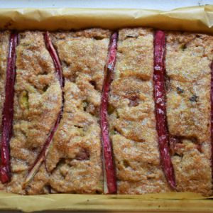 Rabarber cake