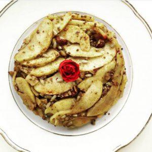 Porridge met gebakken appeltjes